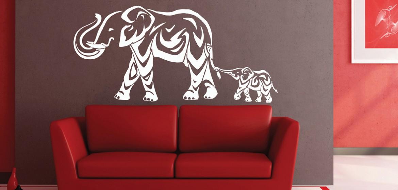 A17- Elephants • 110cmx60cm • R400
